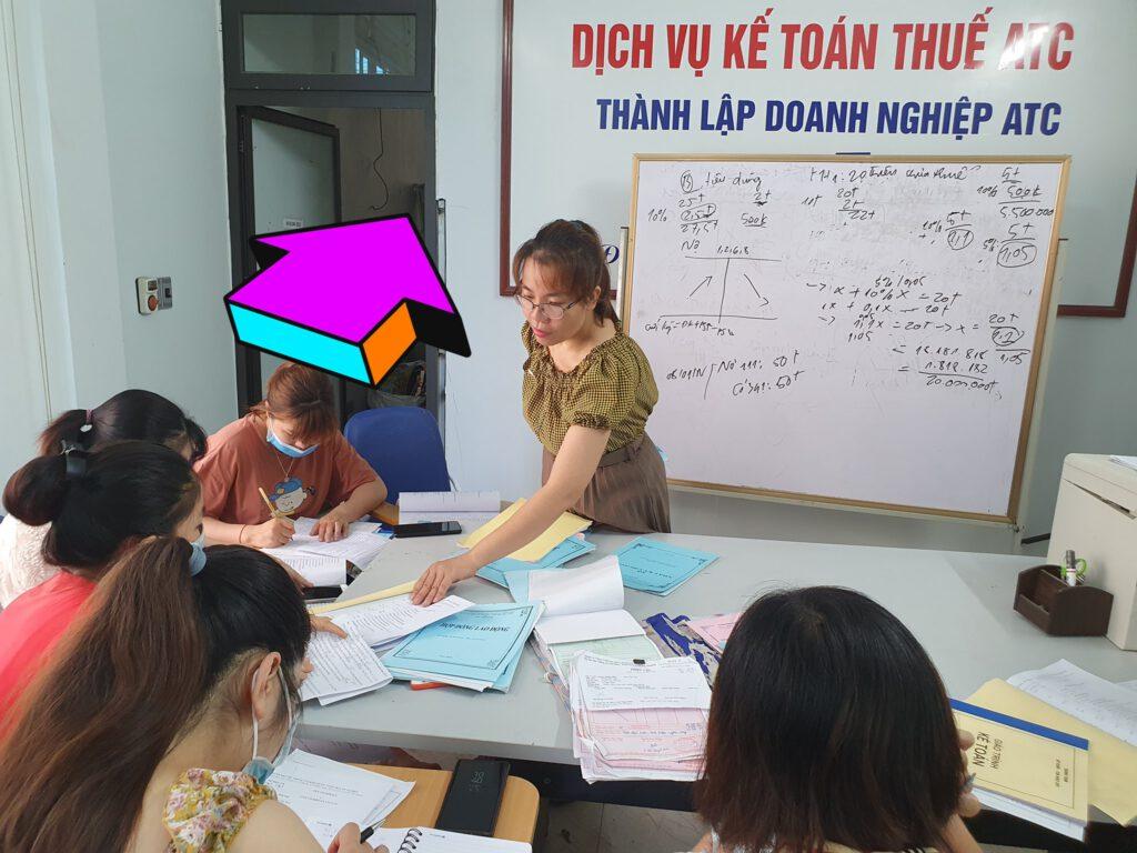 Lớp đào tạo kế toán cấp tốc tại Thanh Hóa