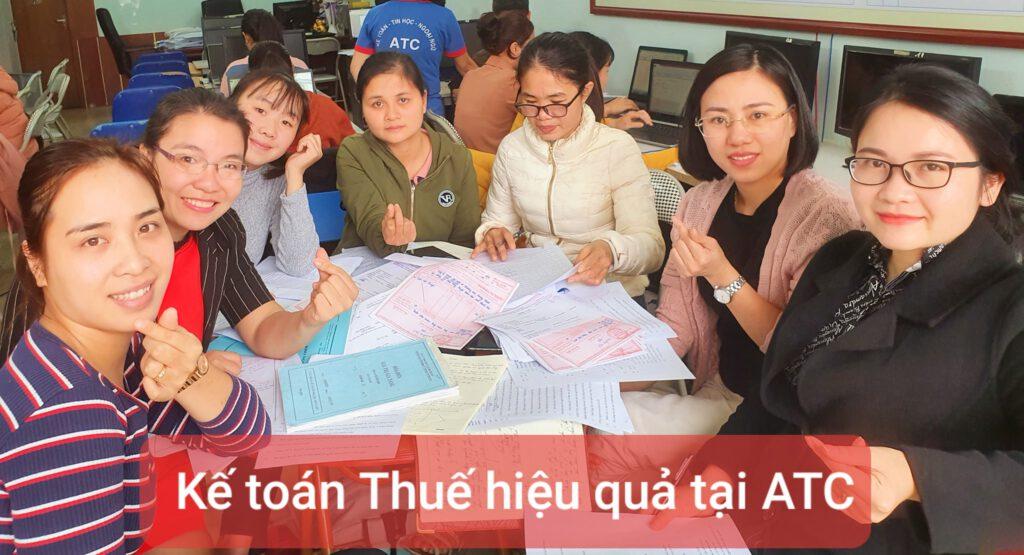 Khóa học kế toán thực tế tại Thanh Hóa